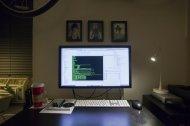 miejsce pracy z komputerem